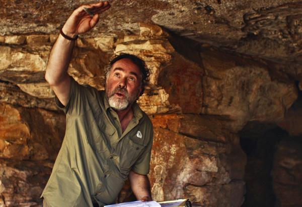 Geomorphologist Jean-Jacques Delannoy