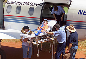 The Royal Flying Doctor Service of Australia today