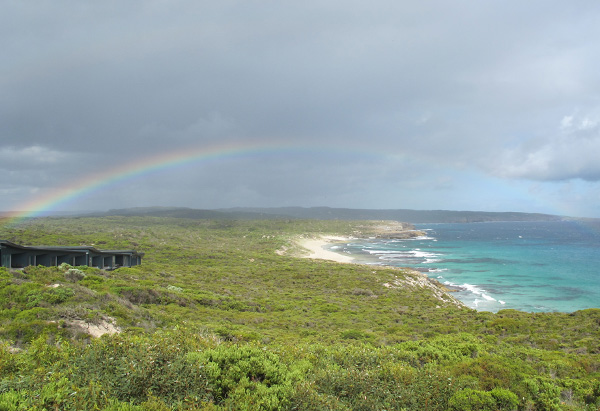 Rainbow on Kangaroo Island