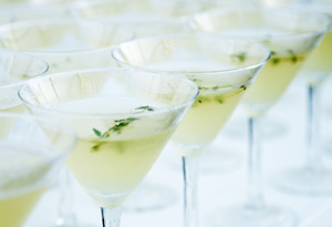 Apple and Thyme Martini