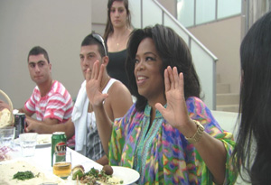 Oprah at Lezette's party