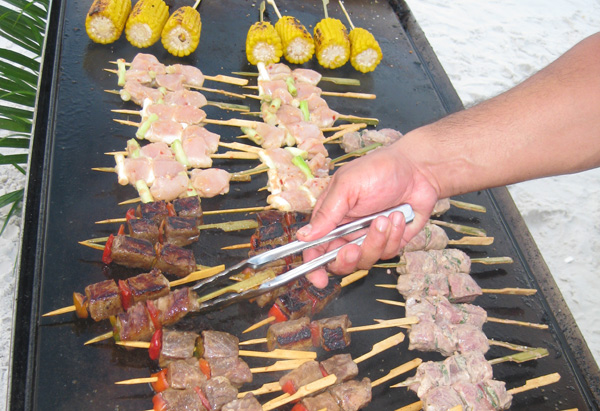 Beef Skewers with Yakitori Marinade Recipe