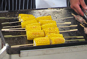 Curtis's grilled sweet corn