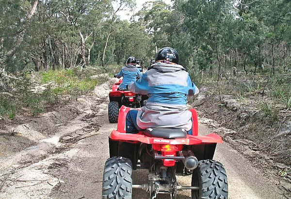 Off-roading in Tasmania