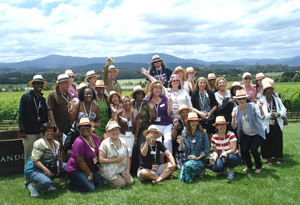Oprah's Ultimate Viewers in Australia's Yarra Valley in Victoria