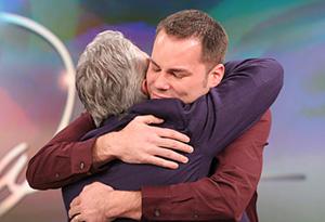 Greg Louganis surprises Michael