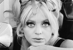 Goldie Hawn in the 1960s