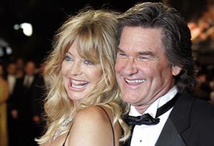 Alt: Goldie Hawn and partner Kurt Russell