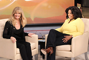 Alt: Goldie Hawn and Oprah