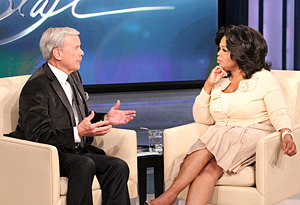 Tom Brokaw and Oprah