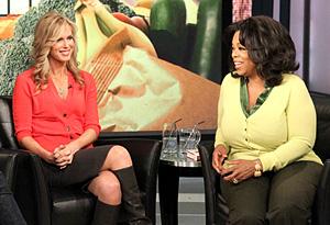 Kathy and Oprah