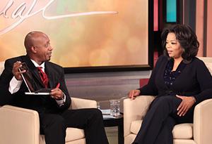 MC Hammer and Oprah
