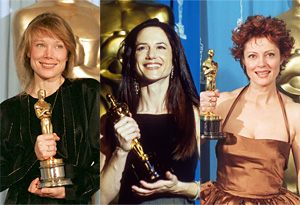 Susan Sarandon, Sissy Spacek, Holly Hunter