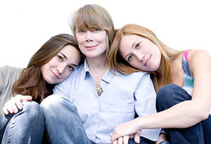 Sissy Spacek and her family