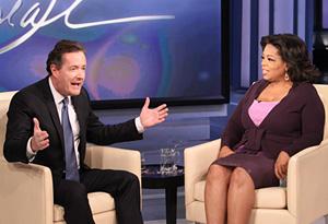 Piers Morgan and Oprah