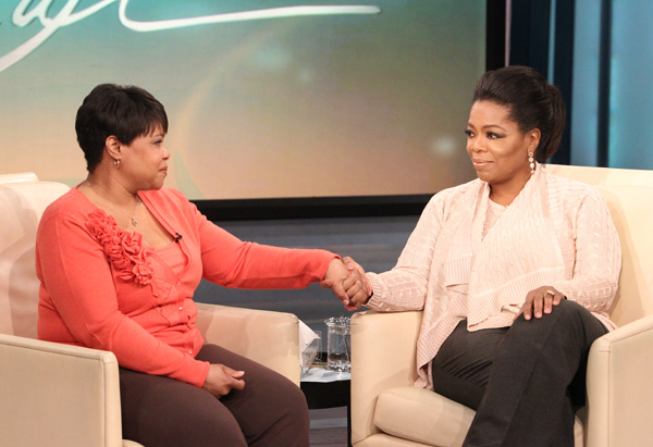 Oprah and her sister, Patricia