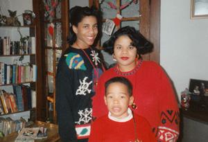Patricia with children