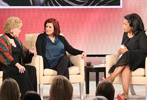 Debbie Reynolds, Carrie Fisher, Oprah