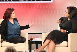 Carrie Fisher and Oprah