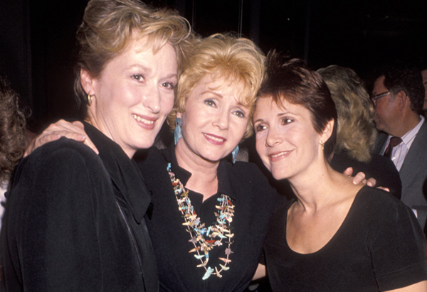 Meryl Streep, Debbie Reynolds and Carrie Fisher