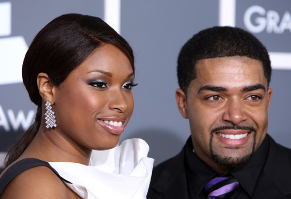 Jennifer Hudson with David Otunga in 2009