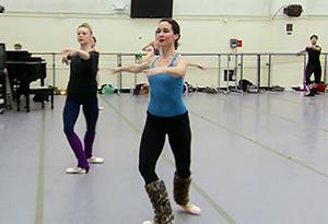 Jenifer Ringer of the New York City Ballet