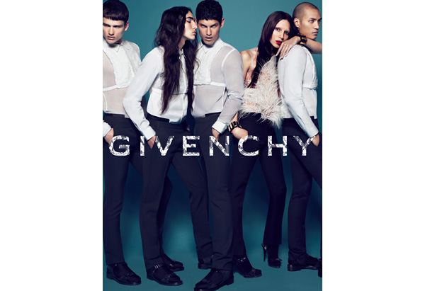 Givenchy ad featuring Lea T