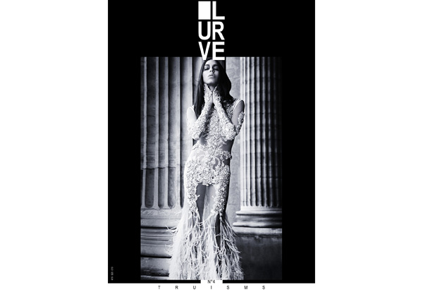 Lea T on the cover of Lurve magazine