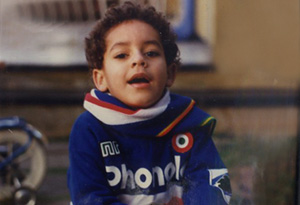 Lea T as a young boy named Leandro