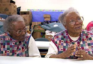 Helen and Ellen, founders of the Love Kitchen