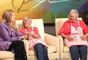 Dani, Helen, Ellen and Oprah