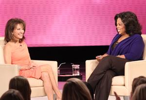 Susan Lucci and Oprah