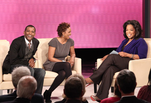 Darnell Williams, Debbi Morgan and Oprah