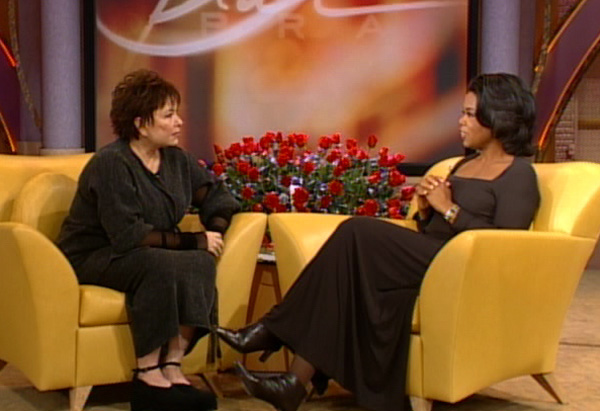 Oprah and Roseanne Barr