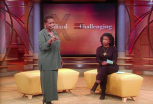 Iyanla Vanzant and Oprah