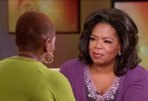 Oprah and Iyanla Vanzant