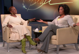 Oprah and Iyanla Vanzant