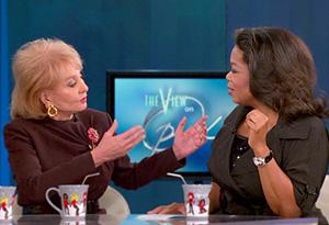 Barbara and Oprah