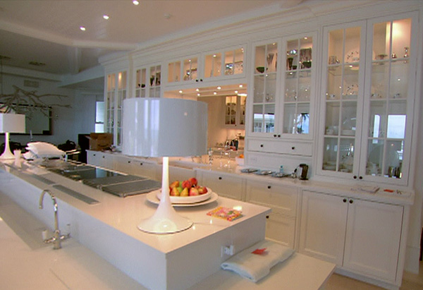 Celine Dion's kitchen