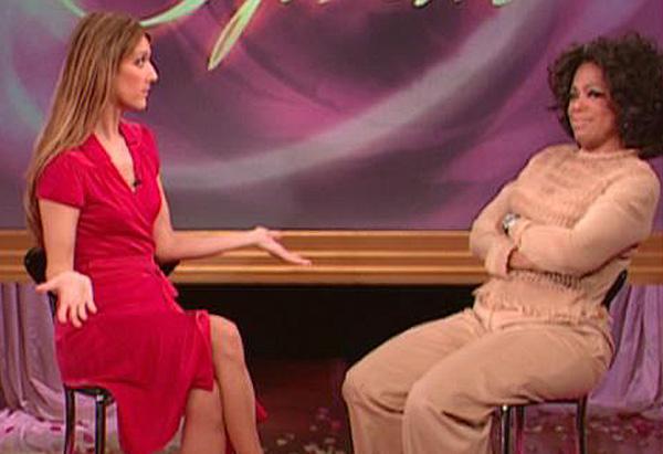 Celine Dion On Oprah