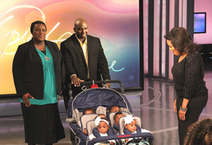 Oprah and the McGhee family
