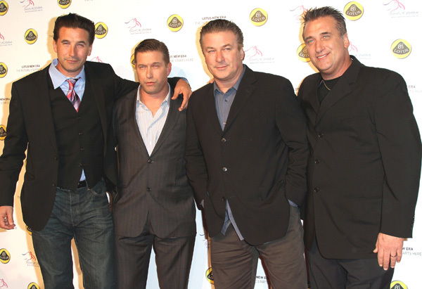 Alec, Stephen, William and Daniel Baldwin