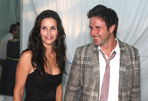 David Arquette and Courteney Cox