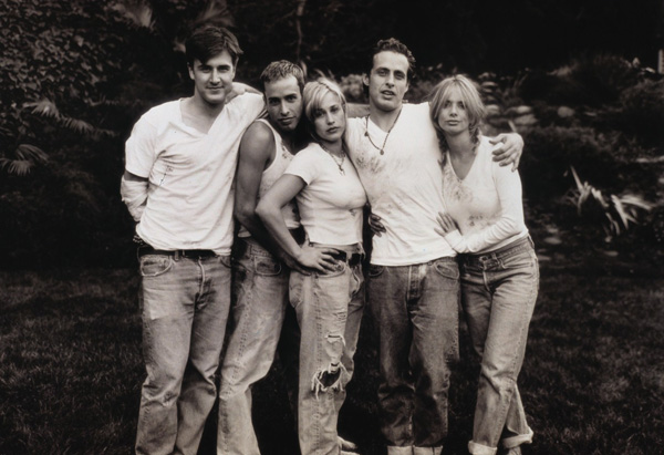 Rosanna, Patricia, David, Alexis & Richmond Arquette