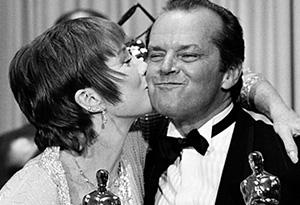 Shirley MacLaine and Jack Nicholson in 1984