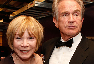 Shirley MacLaine and brother Warren Beatty