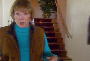 Shirley MacLaine at her New Mexico home