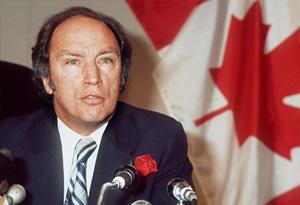 Pierre Trudeau in 1974