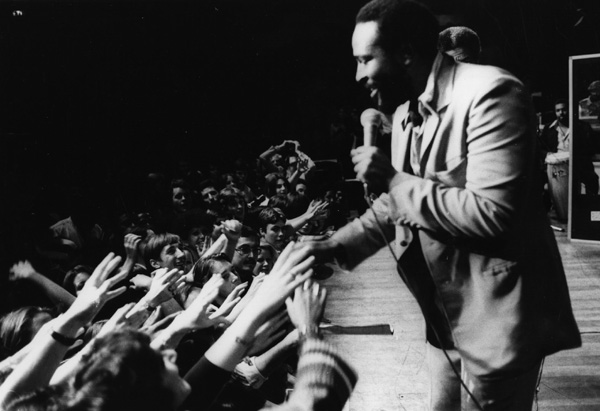 Marvin Gaye in 1976