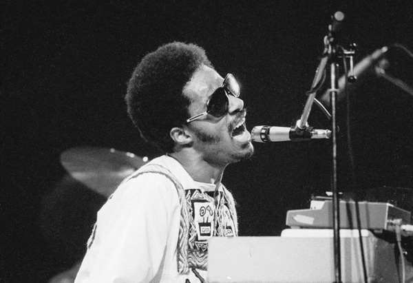 Stevie Wonder in 1974